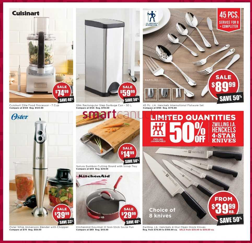 Kitchen Stuff Plus Flyer December 11 - 17, Learn more kitchen stuff plus coupon, Kkitchen stuff plus warehouse sale, kitchen table and chairs, kitchen stuff plus locations, kitchen stuff plus warehouse, kitchen stuff plus red hot deals and more. Find deals and latest flyer from Kitchen Stuff plus Canada in this post category. Kitchen stuff plus Mississauga, Calgary, Toronto, heartland and.