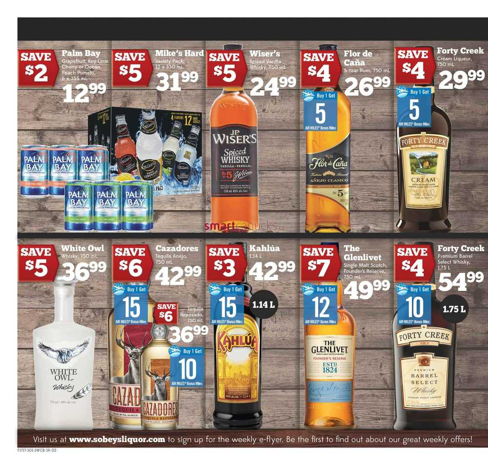 Alcohol coupons canada