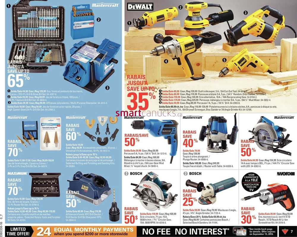Canadian Tire (QC) Flyer September 2 to 8