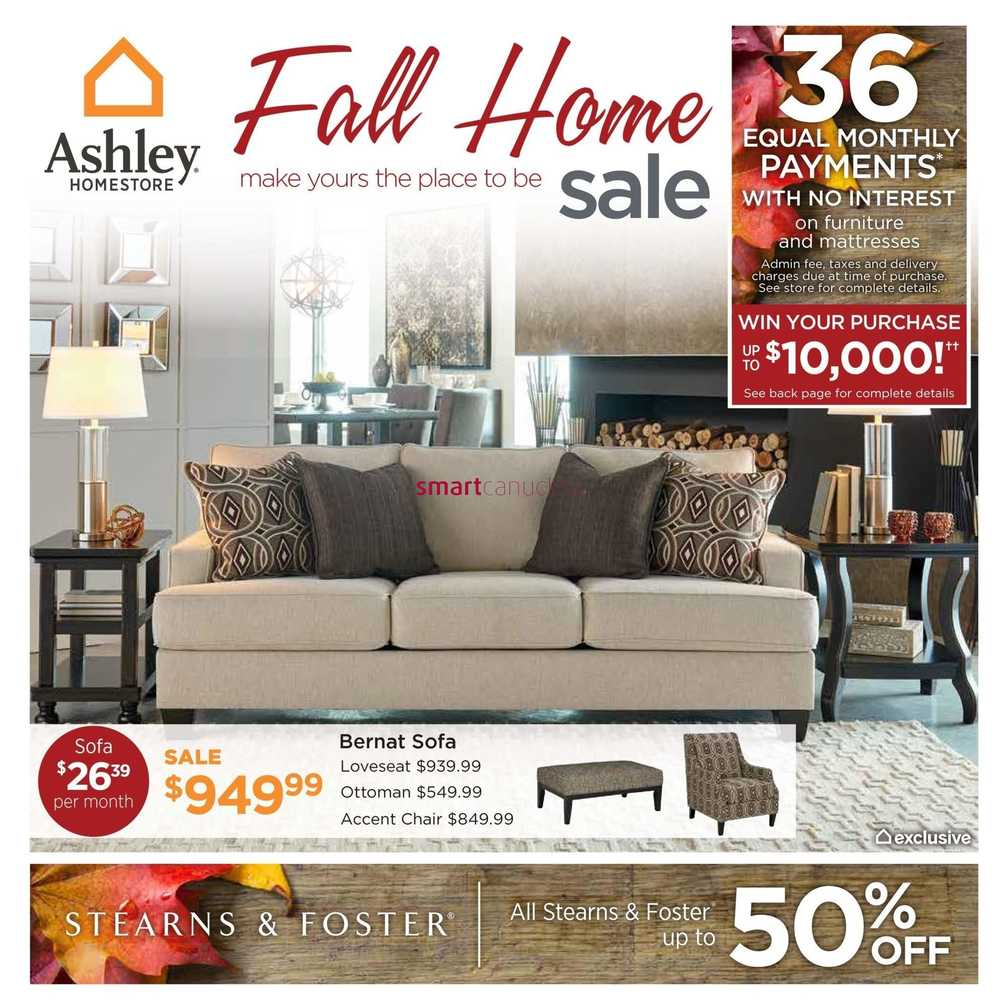 Ashley Furniture Homestore On Flyer September 8 To 24