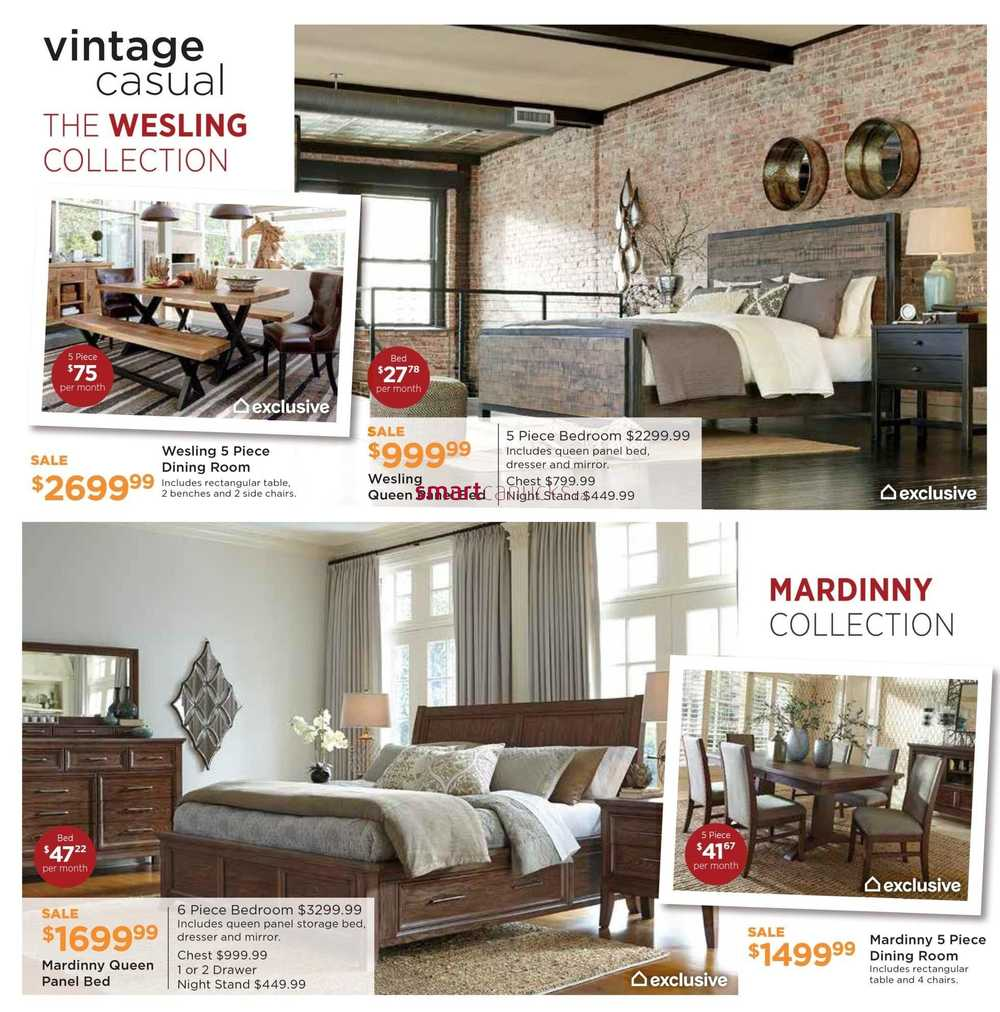 Ashley furniture homestore on flyer september 8 to 24 for Ashley furniture homestore canada