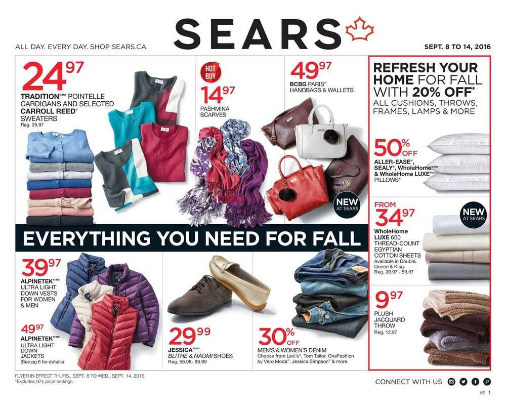Sears Canada Flyers