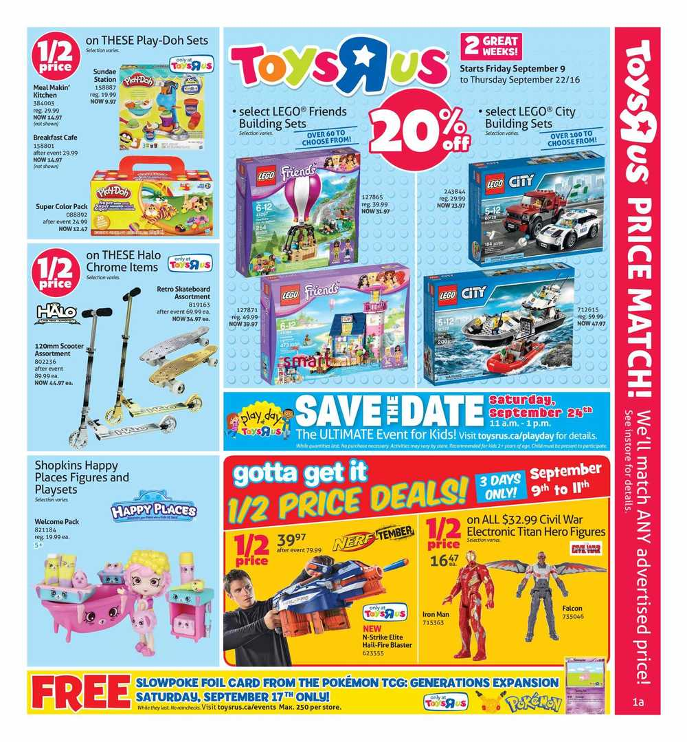 Toys R Us Canada Flyers