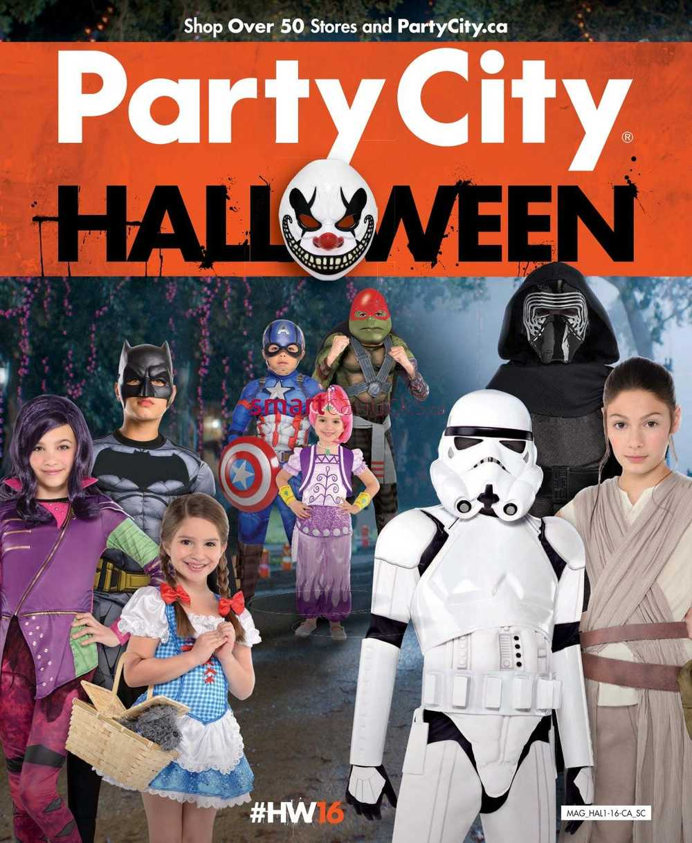 Party City Canada Flyers