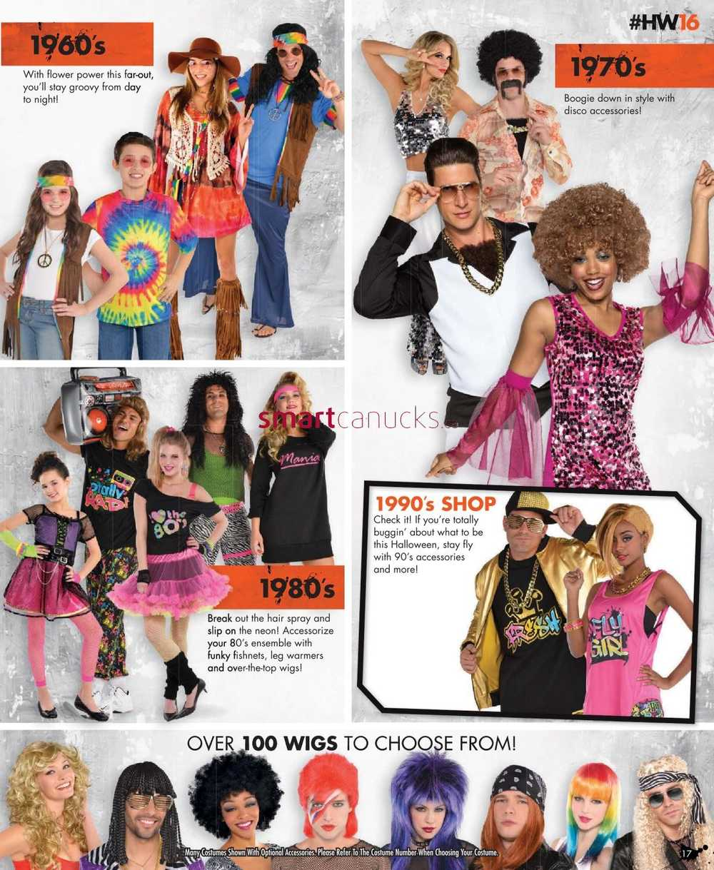 party city halloween flyer