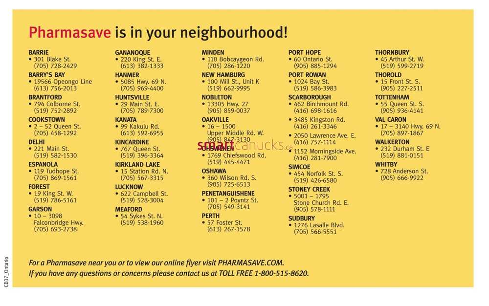 Pharmasave ON Coupon Book September 9 To 22