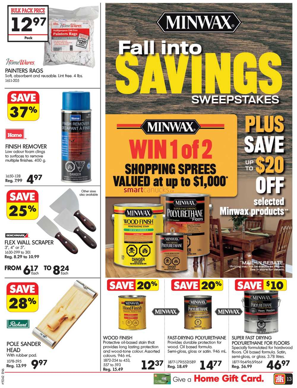 Home Hardware On Flyer September 14 To 24