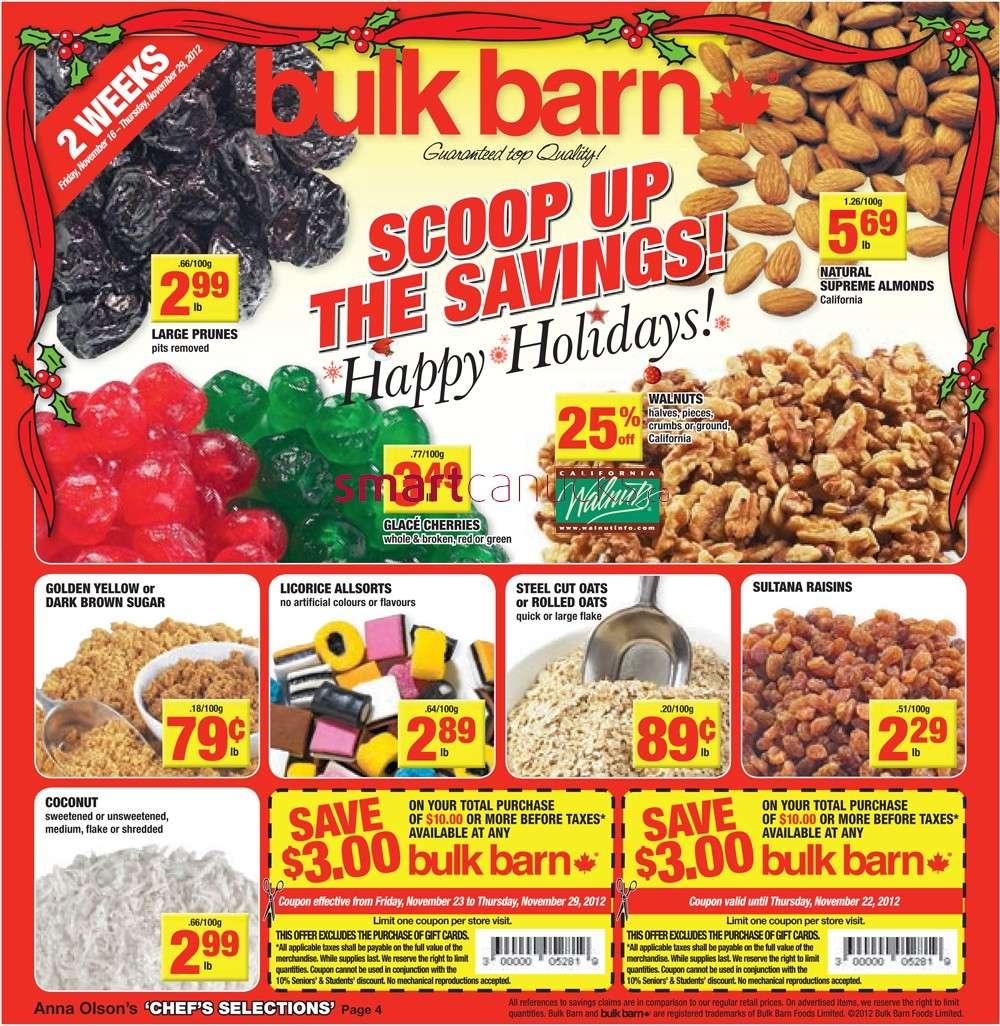 bulk barn flyer nov 16 to 29