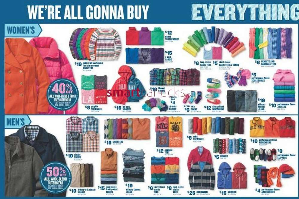 Old navy deals canada