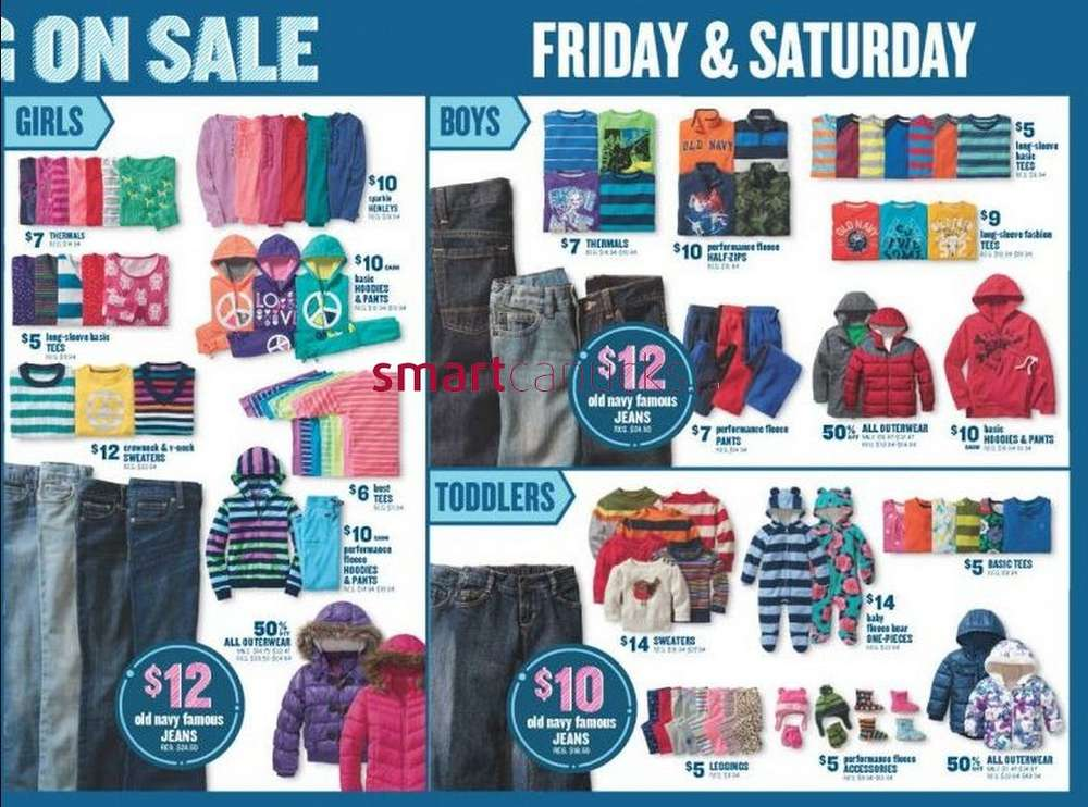Old Navy is already celebrating Black Friday Canada with a Black Friday Pre-Sale of their very own! Until November 22nd, you can get 40% off everything-ish (yes, some exclusions apply this time).With the extra discount, you can get your hands on winter coats, boots and more at great prices.