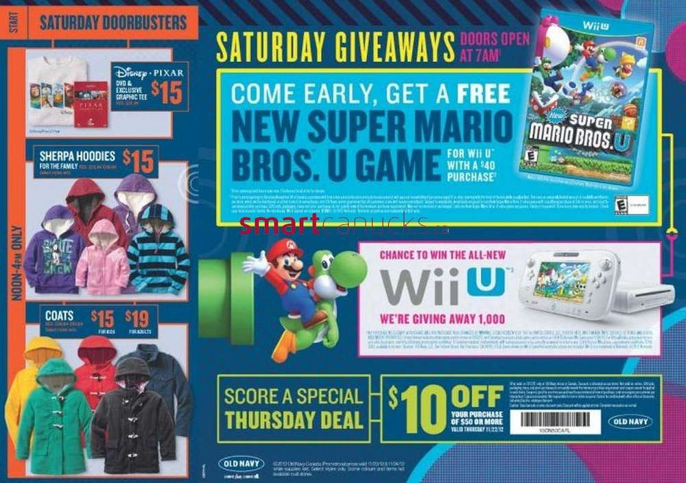 Dec 25,  · Boxing Day Giveaway: First people to visit a participating Old Navy on 12/26/12 (or 12/27/12 for First Westmorland Center, Cabot Power Center, Bayer's Lake, Sudbury Riocan Center, Mic Mac Mall, Wheeler Park Power Center, and First Pro Charlottetown) will form a line at the designated store entrance.