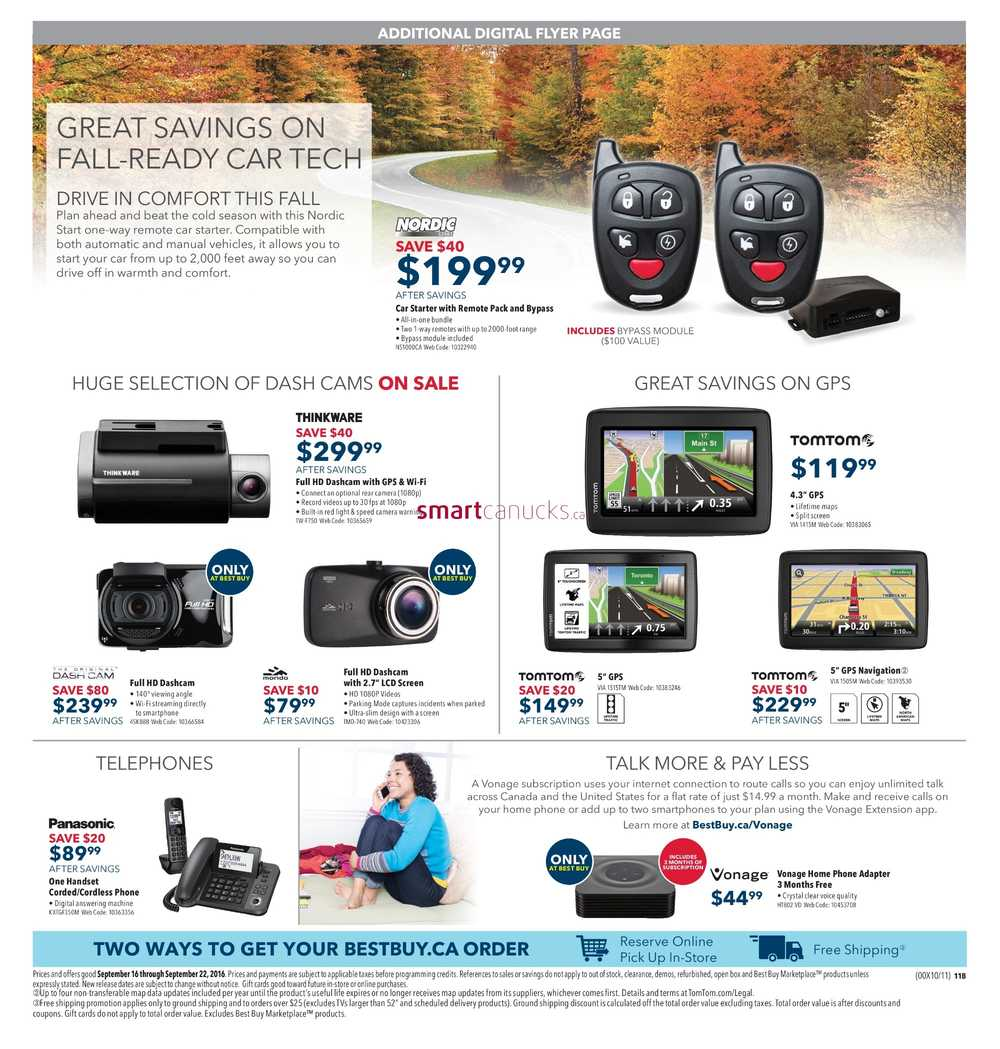 best buy flyer september 16 to 22