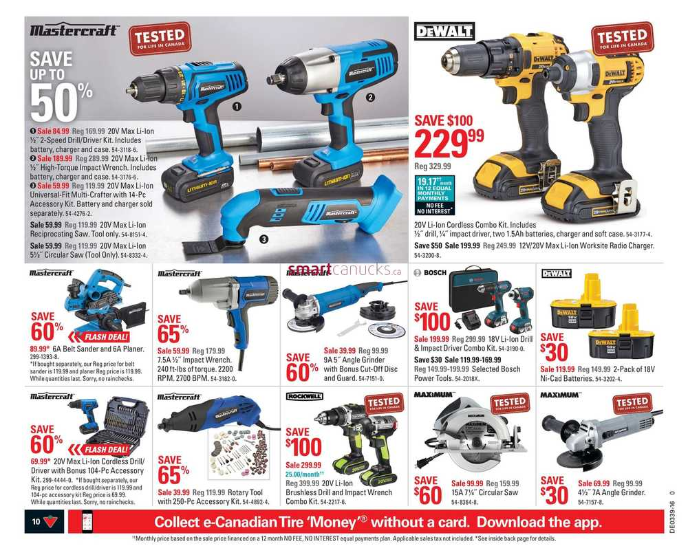 Canadian Tire Atlantic Flyer September 23 To 29