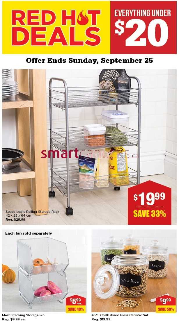 Kitchen Stuff Plus Red Hot Deals September 19 To 25