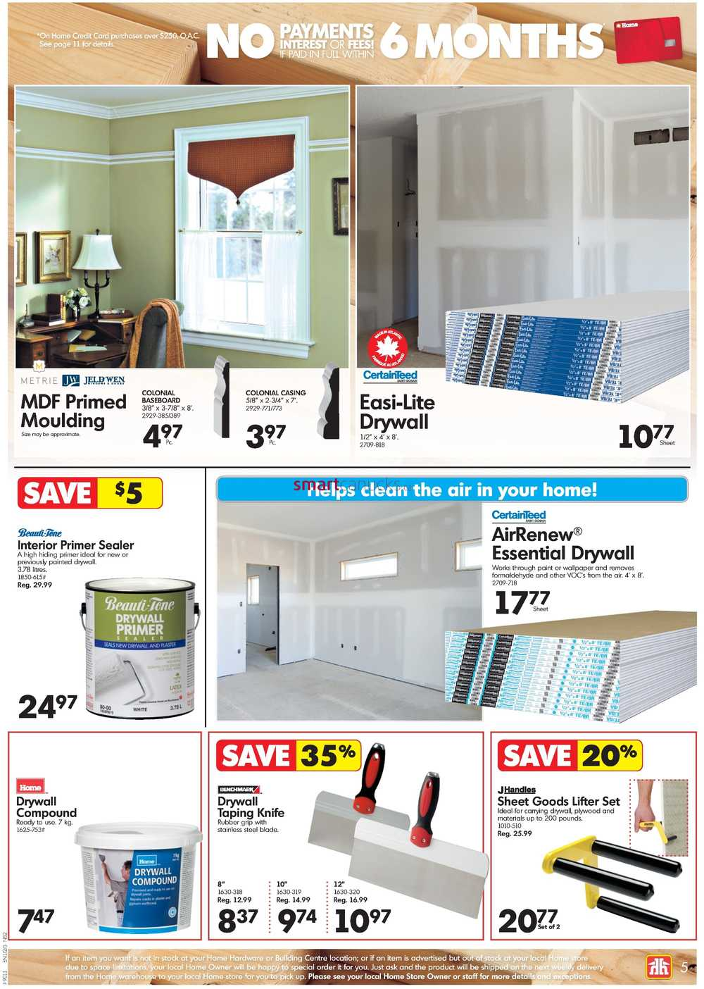 Home Hardware Building Centre (Atlantic) Flyer September 21 to October 1
