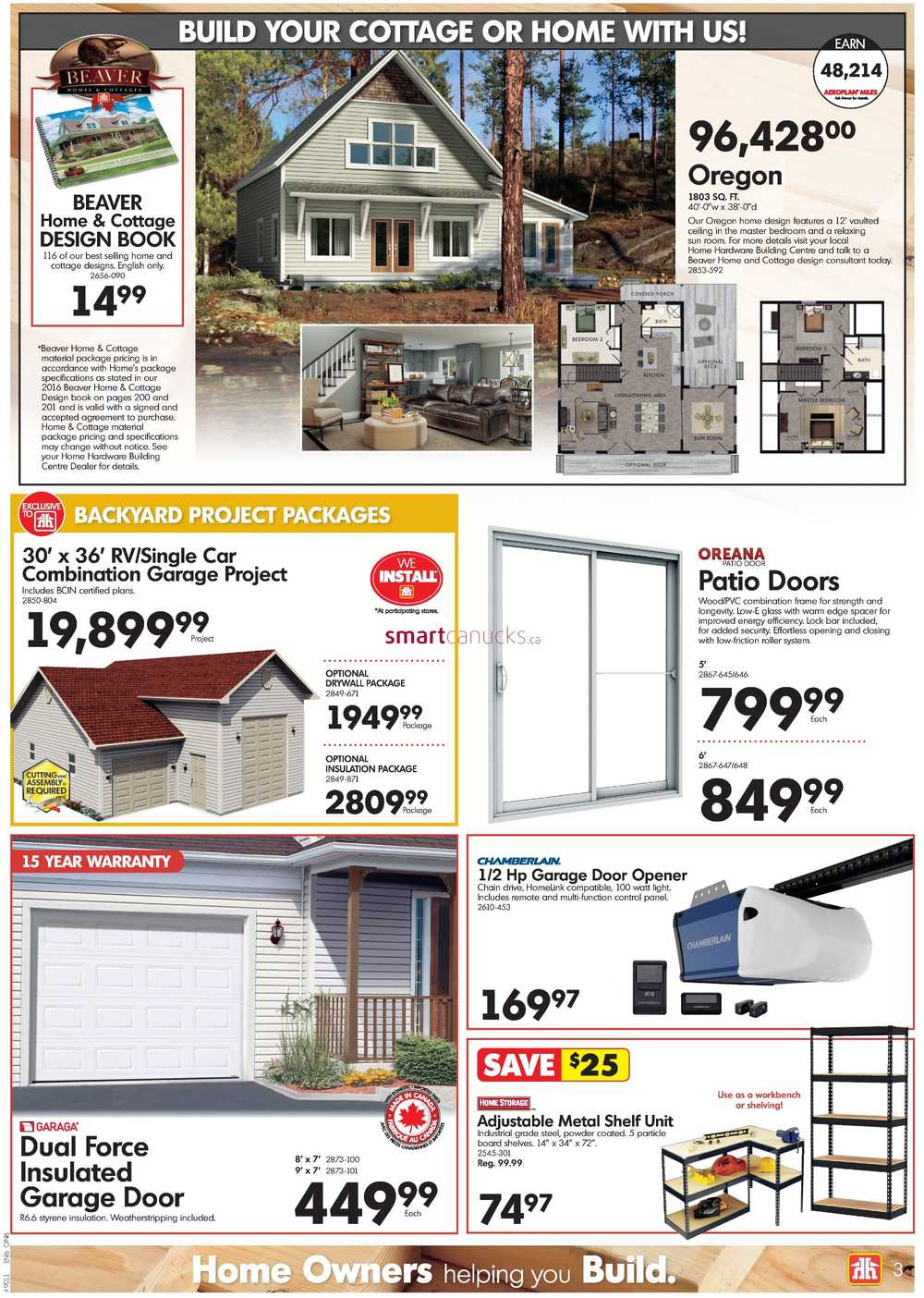 Home Hardware Building Centre (ON) Flyer September 21 to October 1