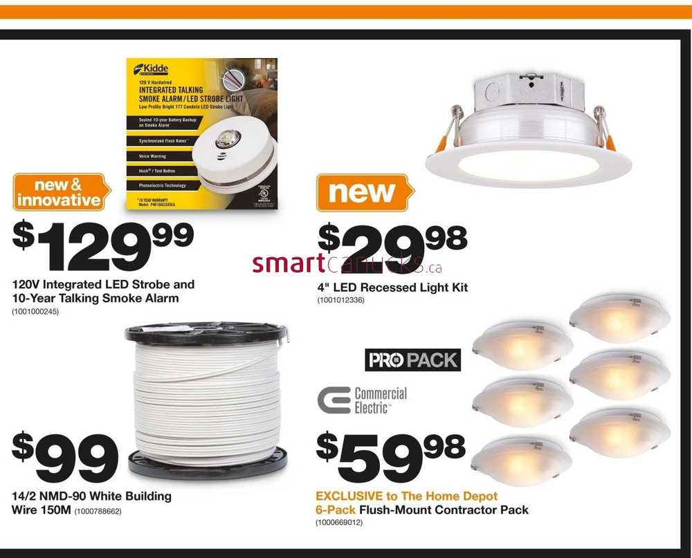Home Depot Pro Savings Flyer September 27 To October 11