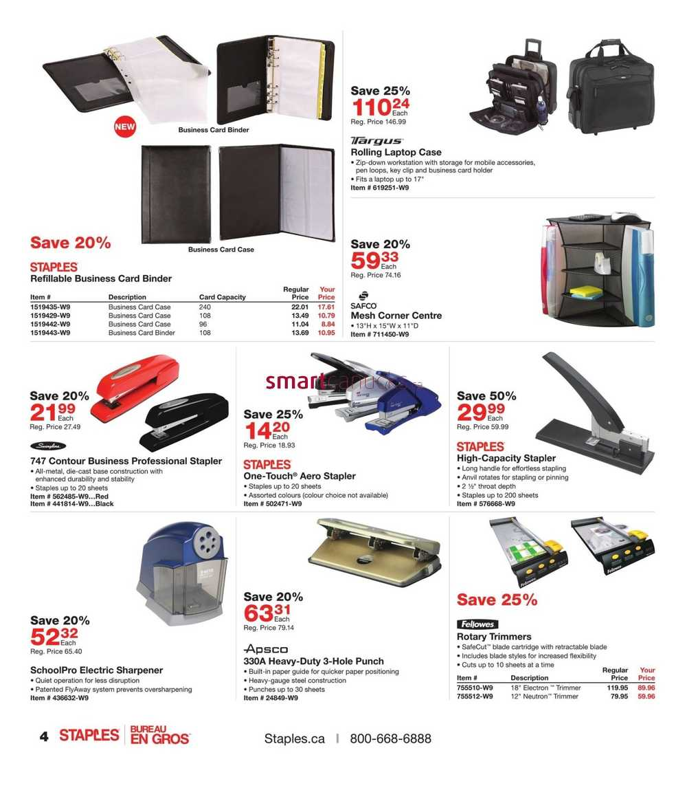 Staples business flyer october 5 to 18 view single reheart Images
