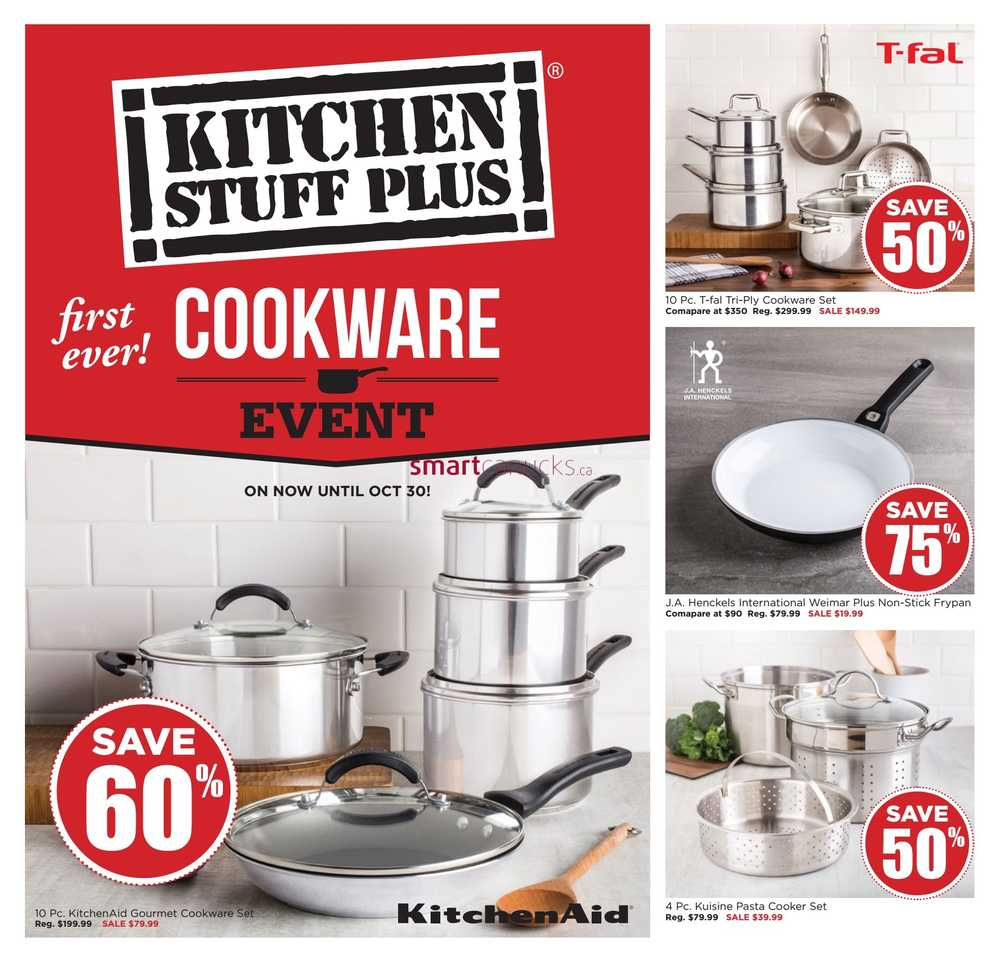 Kitchen stuff plus is like any other greedy company out there. I worked in the webstore where there was almost no organization to the products in the back. They constantly under booked staff therefore the people working in the webstore had to also work on the floor at the same time.