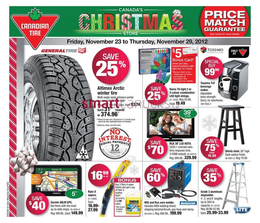 Canadian Tire flyer Nov 23 to 29