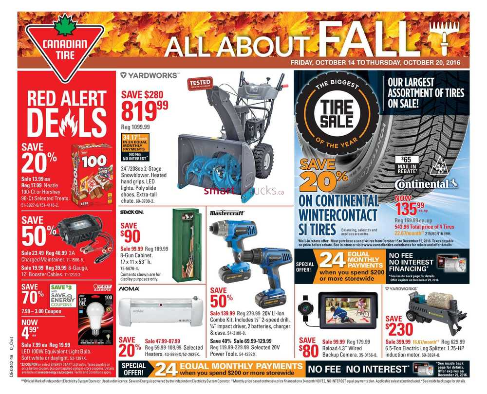 Canadian Tire On Flyer October 14 To 20