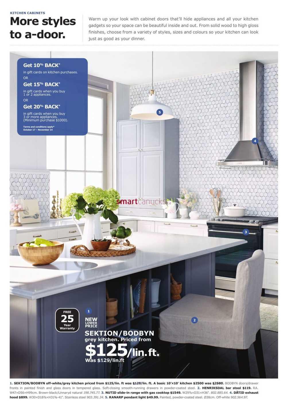 Ikea Kitchen Event Flyer October 17 To November 14