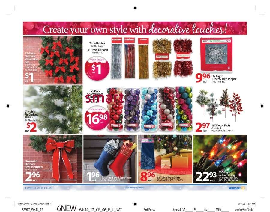 walmarton flyer nov 23 to 2911 Walmart Canada Black Friday Flyer Sales 2012