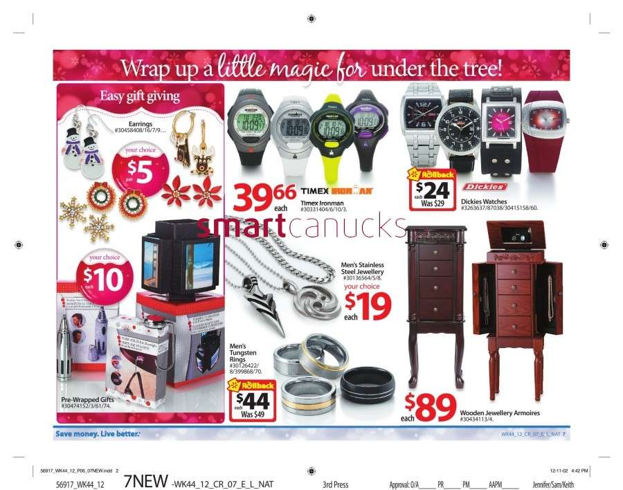 walmarton flyer nov 23 to 2912 Walmart Canada Black Friday Flyer Sales 2012