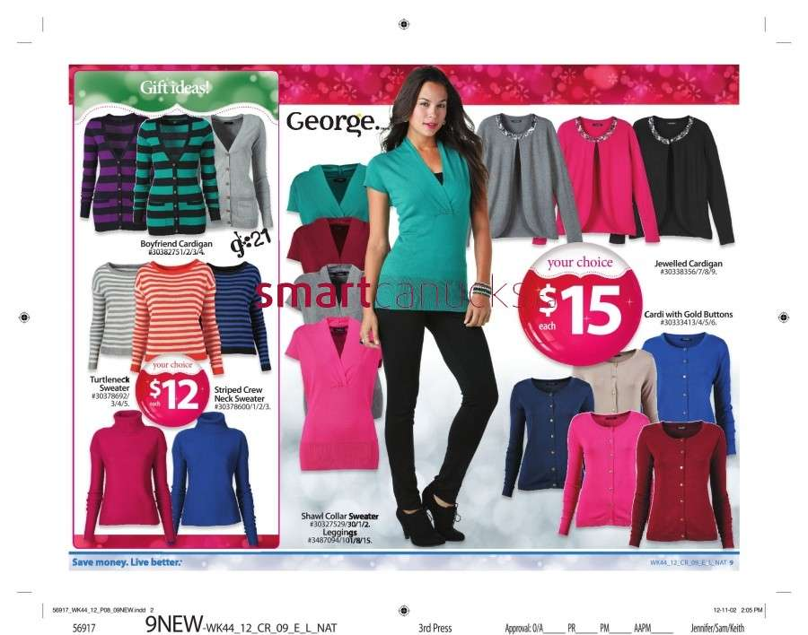 walmarton flyer nov 23 to 2914 Walmart Canada Black Friday Flyer Sales 2012