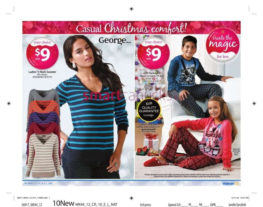 walmarton flyer nov 23 to 2915 Walmart Canada Black Friday Flyer Sales 2012