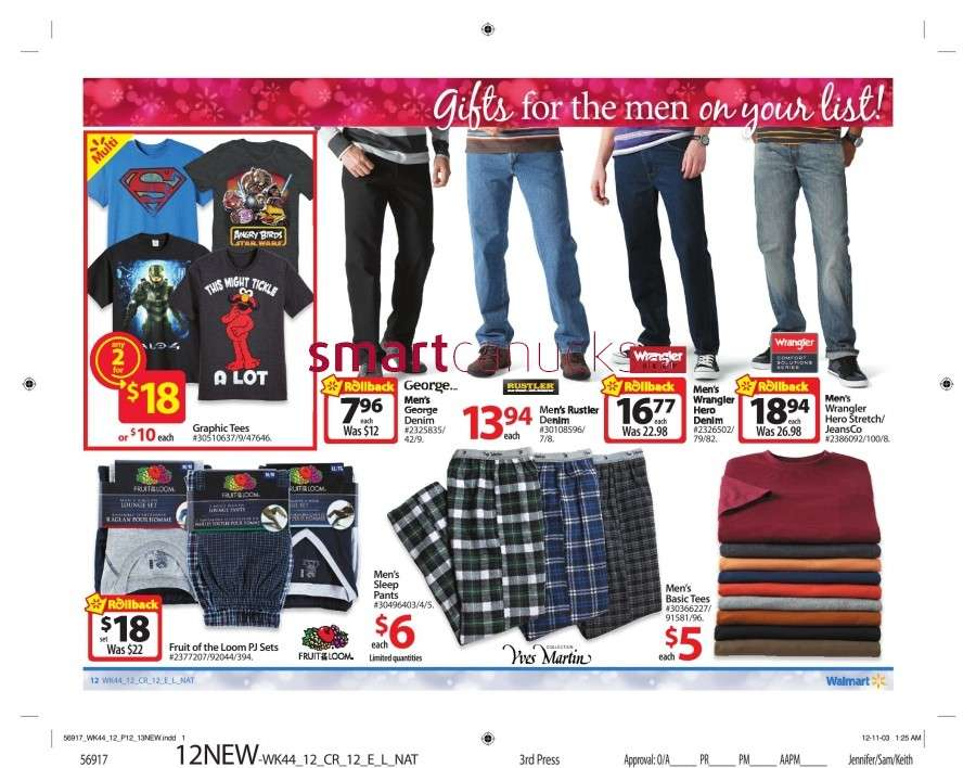 walmarton flyer nov 23 to 2917 Walmart Canada Black Friday Flyer Sales 2012