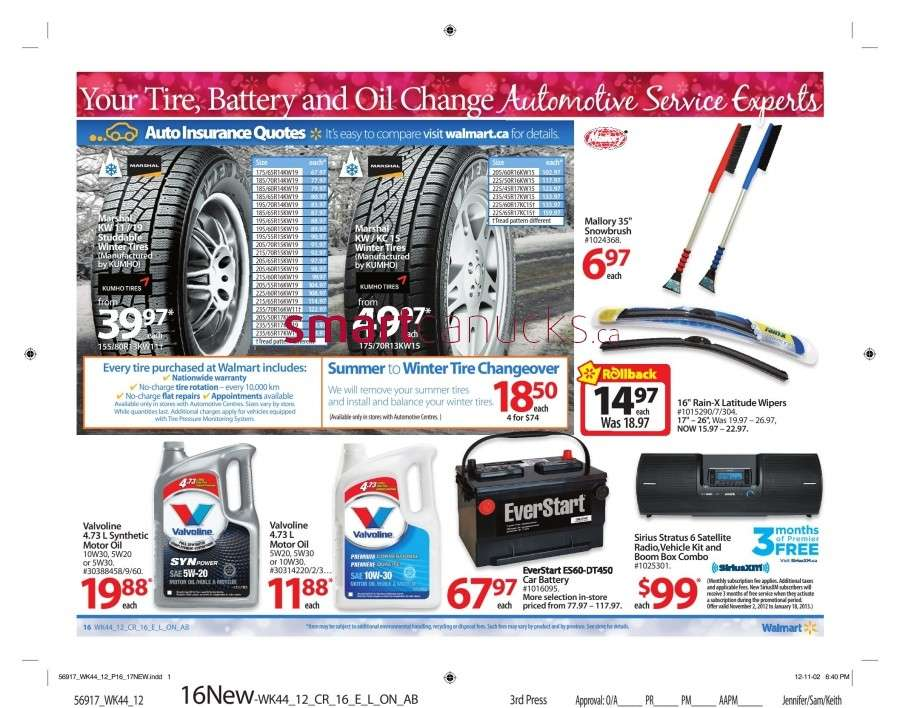 walmarton flyer nov 23 to 2921 Walmart Canada Black Friday Flyer Sales 2012