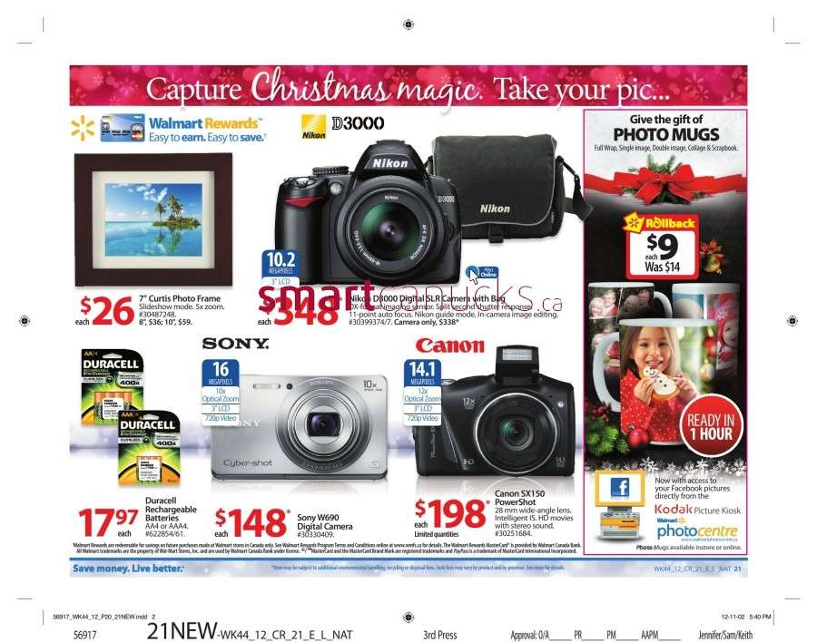 walmarton flyer nov 23 to 2926 Walmart Canada Black Friday Flyer Sales 2012