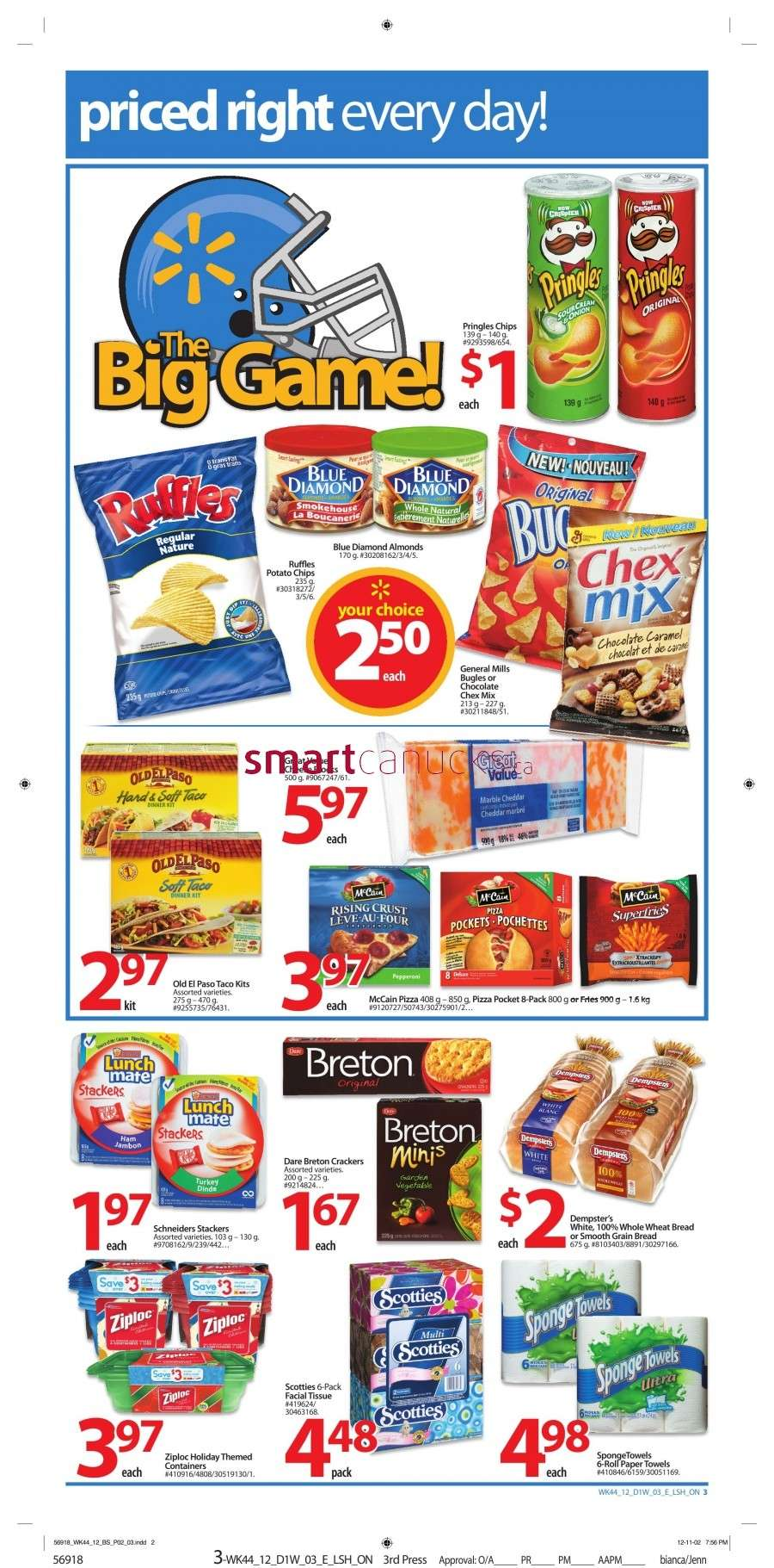 walmarton flyer nov 23 to 293 Walmart Canada Black Friday Flyer Sales 2012