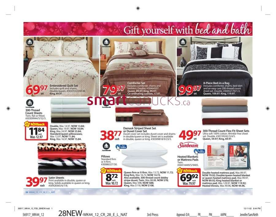 walmarton flyer nov 23 to 2933 Walmart Canada Black Friday Flyer Sales 2012