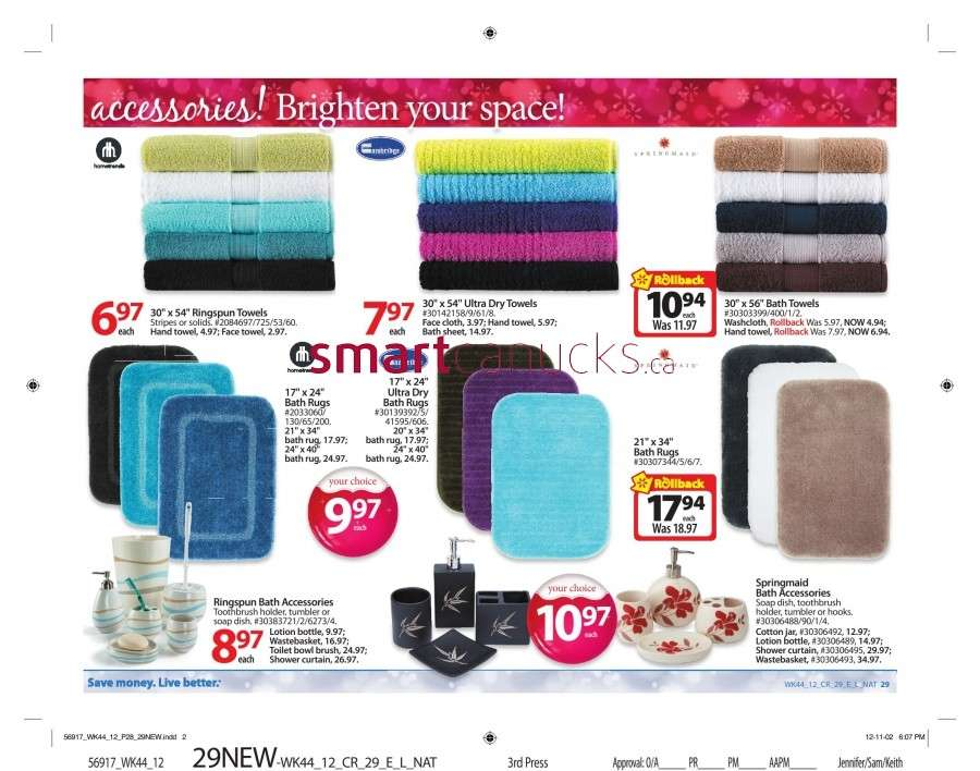 walmarton flyer nov 23 to 2934 Walmart Canada Black Friday Flyer Sales 2012