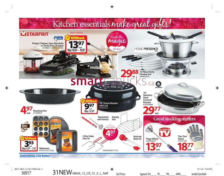 walmarton flyer nov 23 to 2936 Walmart Canada Black Friday Flyer Sales 2012