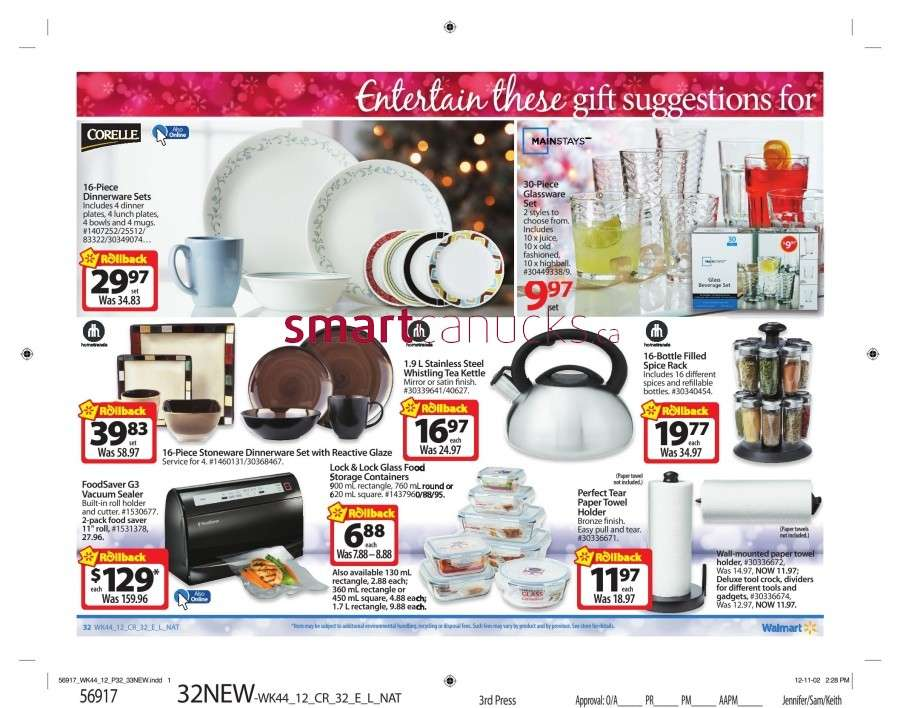 walmarton flyer nov 23 to 2937 Walmart Canada Black Friday Flyer Sales 2012