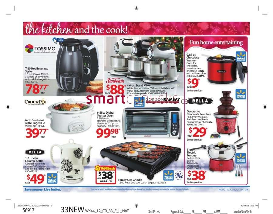 walmarton flyer nov 23 to 2938 Walmart Canada Black Friday Flyer Sales 2012