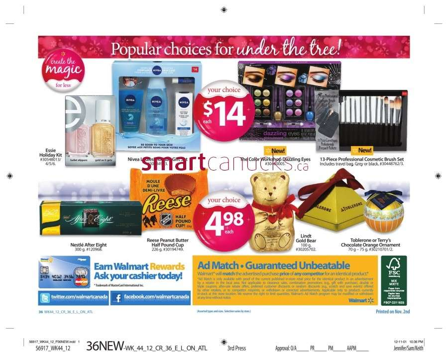 walmarton flyer nov 23 to 2941 Walmart Canada Black Friday Flyer Sales 2012
