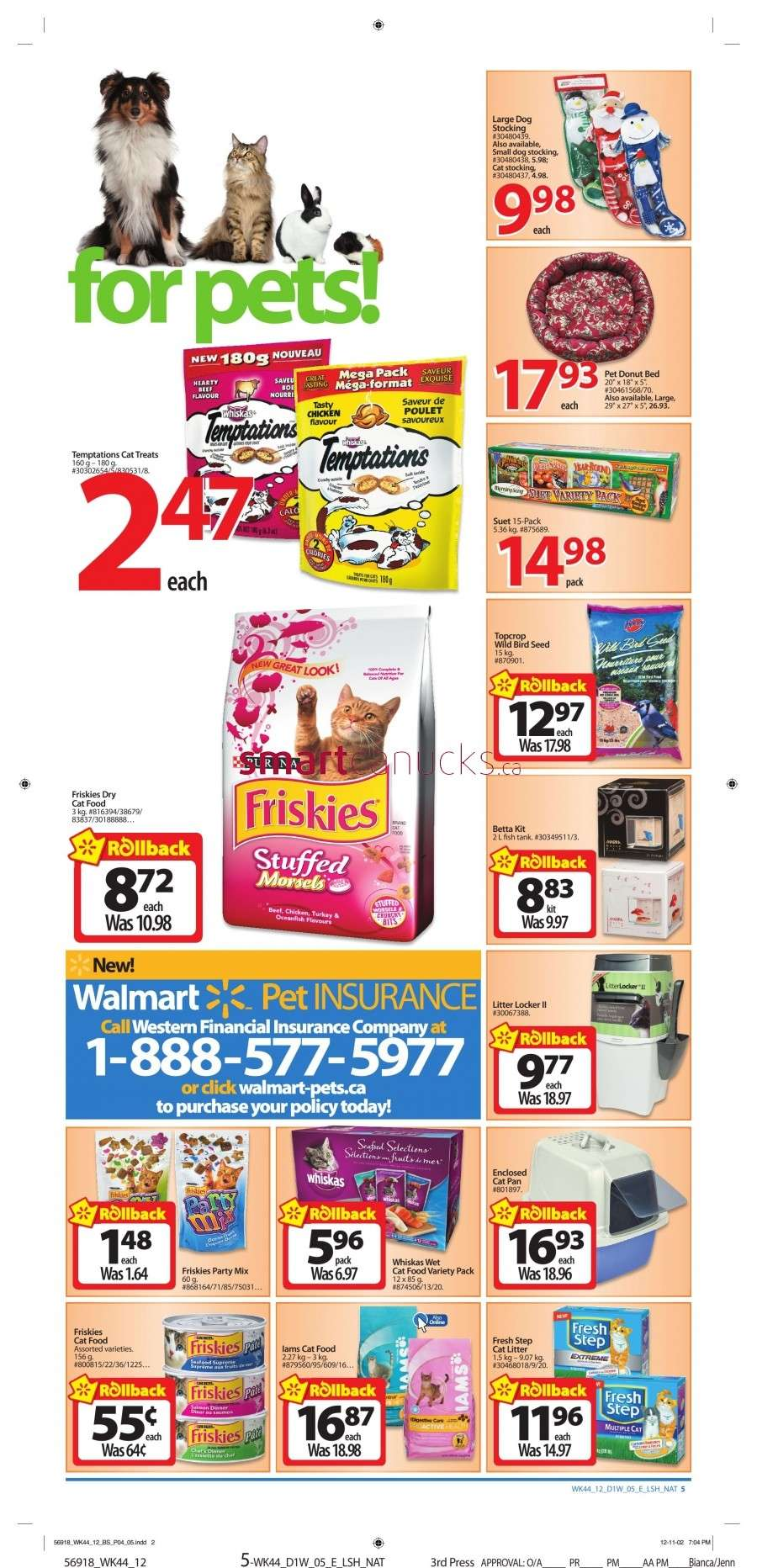 walmarton flyer nov 23 to 295 Walmart Canada Black Friday Flyer Sales 2012