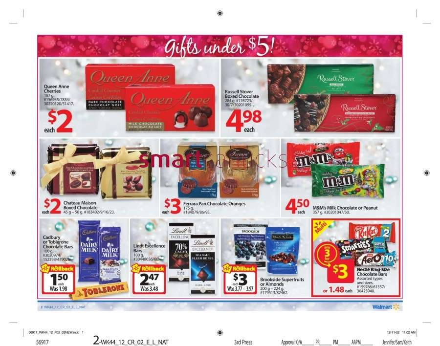 walmarton flyer nov 23 to 297 Walmart Canada Black Friday Flyer Sales 2012