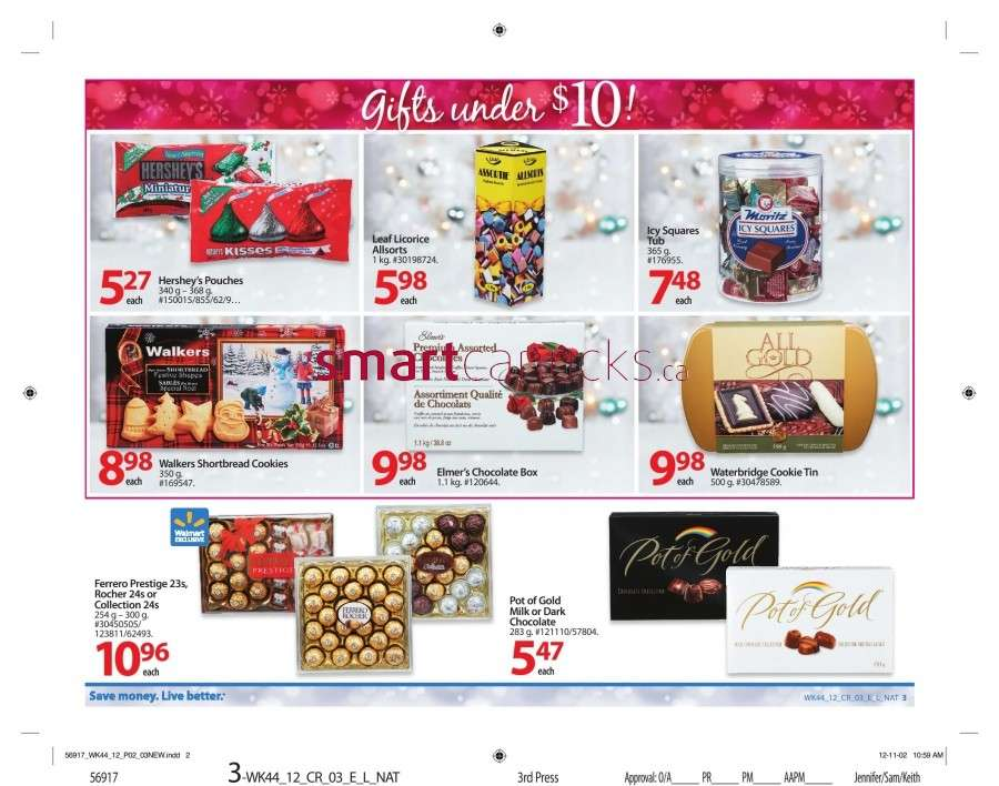 walmarton flyer nov 23 to 298 Walmart Canada Black Friday Flyer Sales 2012