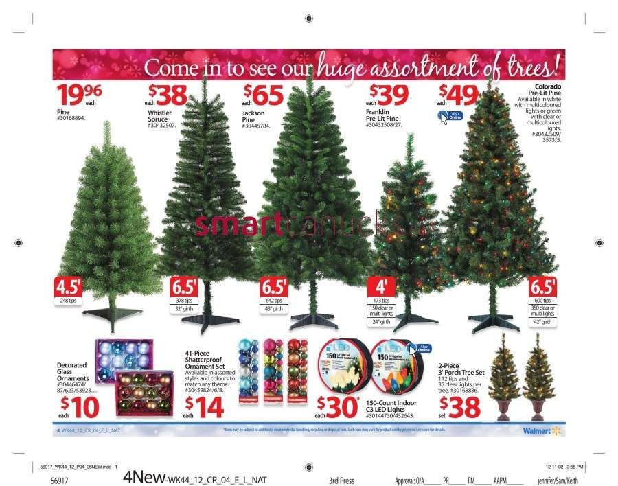 walmarton flyer nov 23 to 299 Walmart Canada Black Friday Flyer Sales 2012