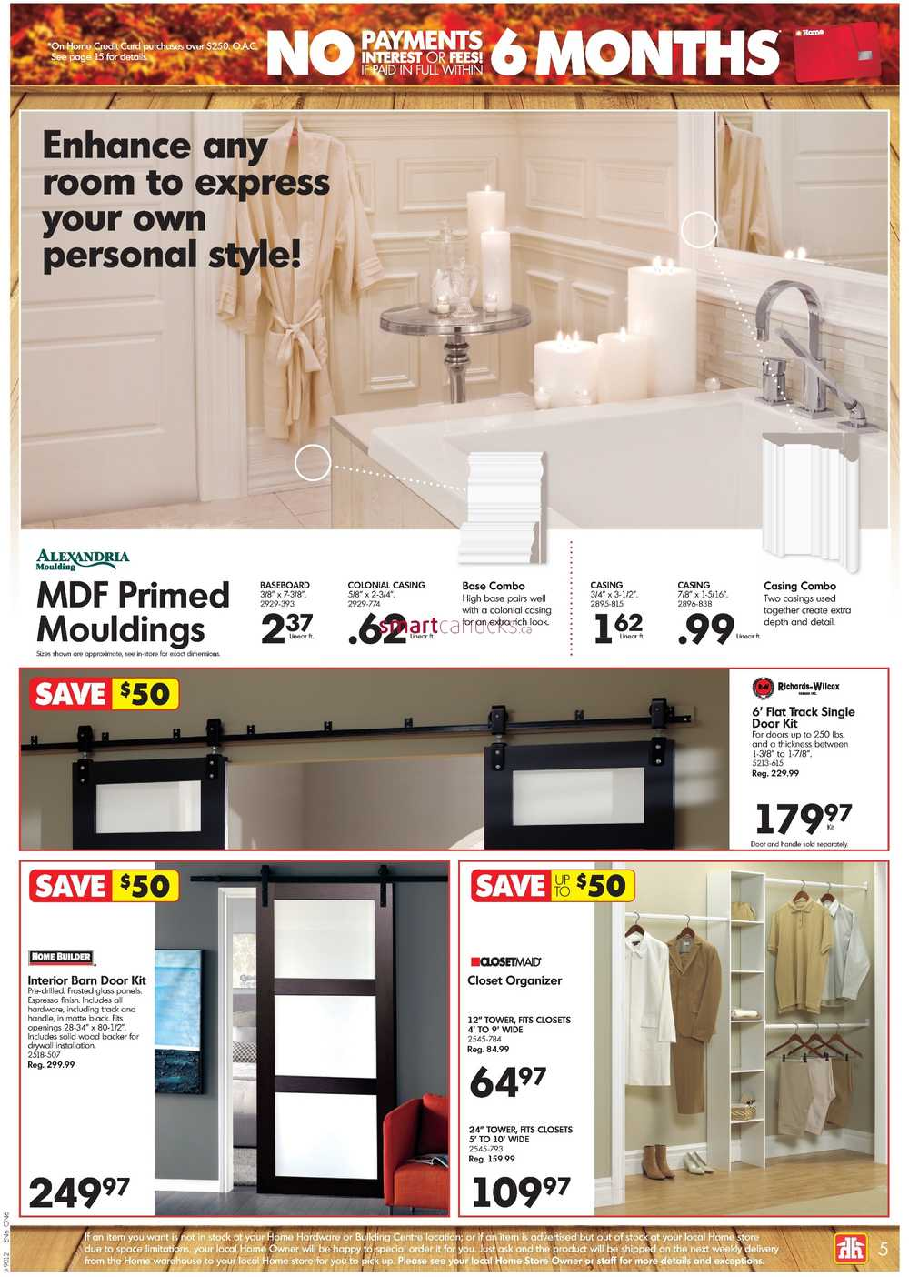 Home Hardware Building Centre On Flyer October 19 To 29