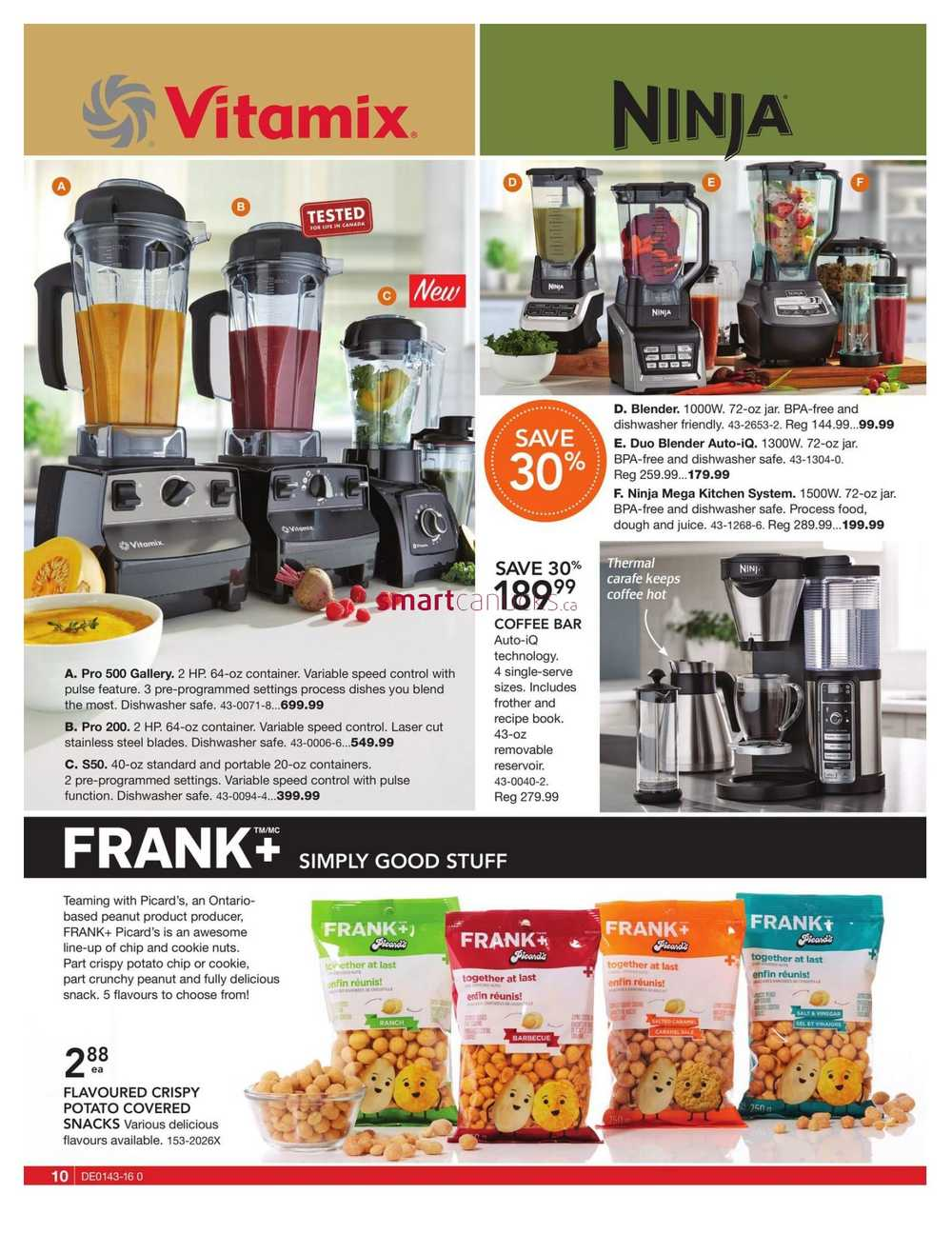Uncategorized Canadian Tire Kitchen Appliances canadian tire big brands catalogue october 21 to november 10 1 2 next more flyers