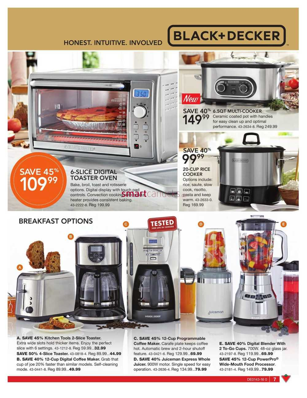 Uncategorized Canadian Tire Kitchen Appliances canadian tire big brands catalogue october 21 to november 10 view single