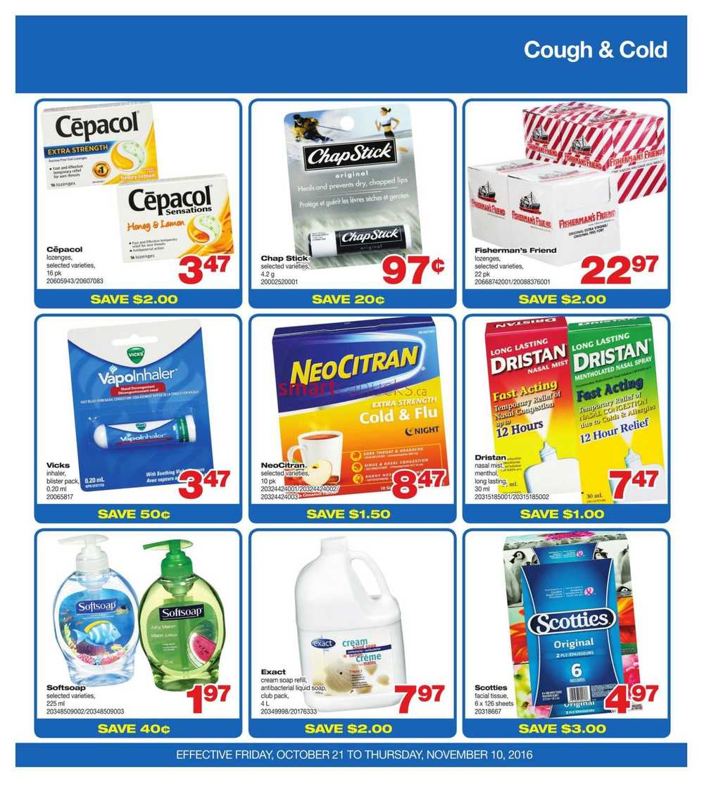 Wholesale Club (Atlantic) Flyer October 21 to November 10