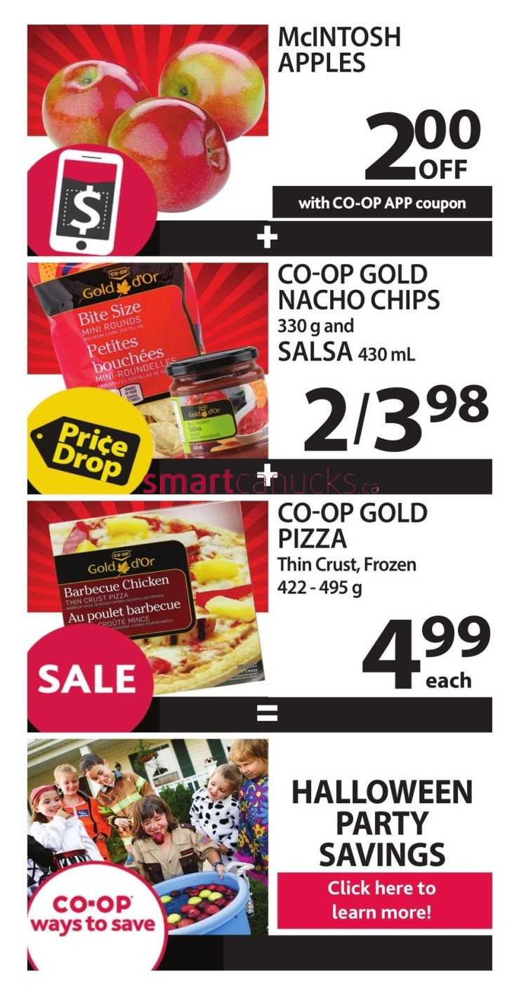 Coop food coupons