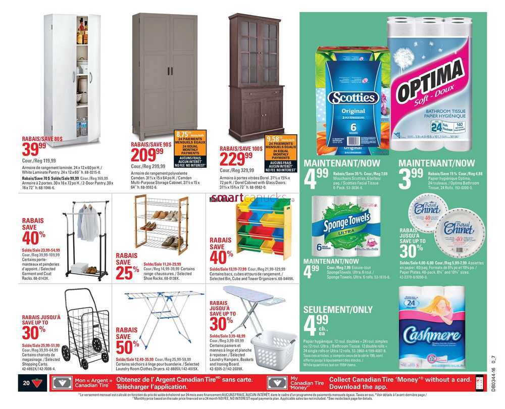 Canadian Tire (QC) Flyer October 28 to November 3